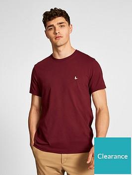 jack-wills-sandleford-t-shirt-burgundy