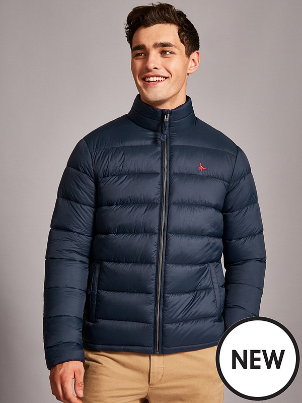 new product online store factory outlets Kershaw Quilted Jacket - Navy