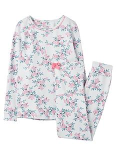 joules-girls-sleepwell-floral-pyjama-set-blue