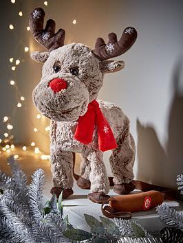 festive-animated-walking-and-singing-reindeer