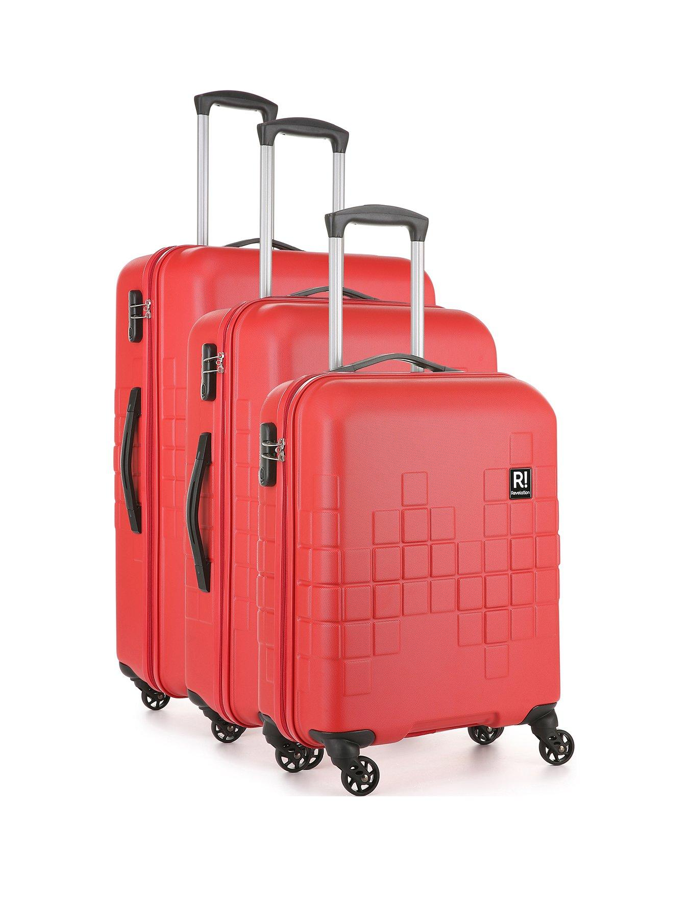Northern Soul All Over Red Caseskinz Suitcase Cover *SUITCASE NOT INCLUDED*