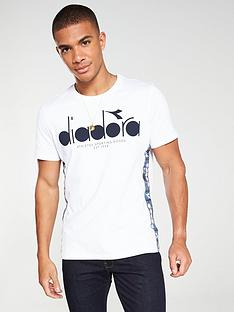 diadora-5palle-offside-taped-t-shirt-white