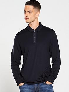 ted-baker-long-sleeved-polo-shirt-navy