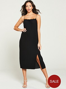 river-island-lace-trim-slip-dress--black
