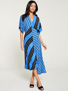 river-island-mixed-striped-dress--blue