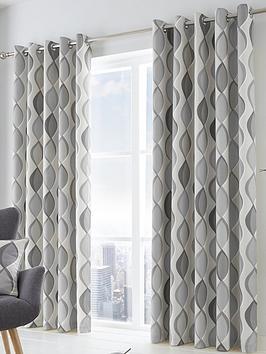 fusion-lennox-lined-eyelet-curtains