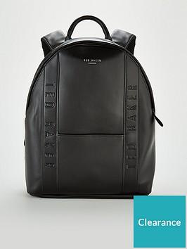ted-baker-dominoe-backpack-black