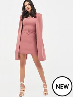 lavish-alice-asymmetric-neck-mini-cape-dress-dusty-rose