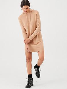 v-by-very-hooded-knitted-dress-camel