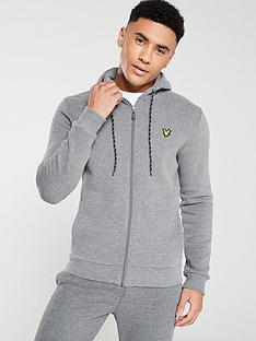 lyle-scott-fitness-hooded-full-zip-midlayer-mid-grey-marl