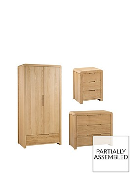 julian-bowen-newman-curve-4-piece-package-2-door-wardrobe-3-drawer-chest-and-2-bedside-tables