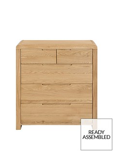 julian-bowen-newman-curve-3-2-drawer-chest