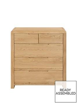 julian-bowen-newman-curve-3-2-drawer-chest