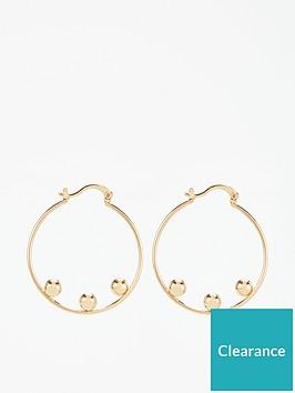 whistles-triple-sphere-hoop-earrings-gold