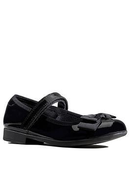 clarks-kidnbspscala-tap-patent-bow-school-shoes-black