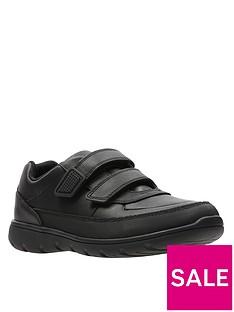 clarks-older-venture-walk-strap-shoes-black-leather