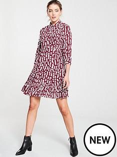 whistles-agata-illustrated-flower-dress-burgundy