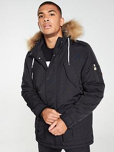 ellesse-blizzard-parka-black