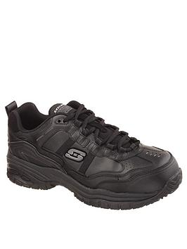 skechers-work-relaxed-fit-lace-up-shoe-black