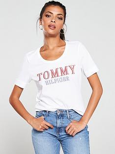 tommy-hilfiger-dora-scoop-neck-t-shirt-classic-whitenbsp