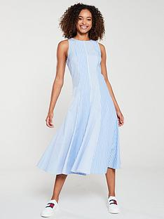 tommy-hilfiger-felicity-icon-stripe-dress-ultramarine