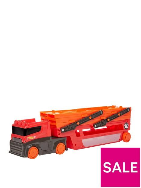 hot-wheels-mega-hauler-truck-transporternbspfor-50-toy-cars