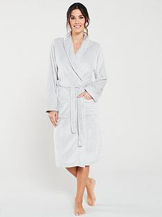 v-by-very-supersoft-robe-silver