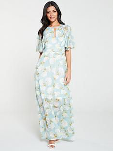 v-by-very-light-floral-print-kimono-maxi-dress-blue-floral