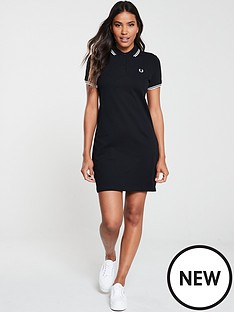 fred-perry-twin-tipped-fred-perry-dress-black