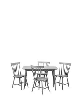 julian-bowen-torino-120-cm-dining-table-4-chairs-grey