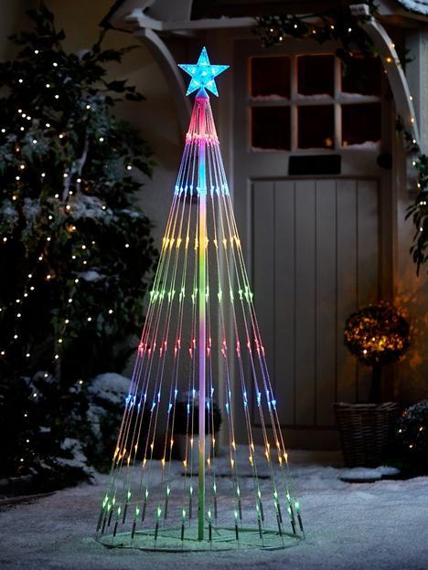 55ft-waterfall-led-indooroutdoor-christmas-tree-light