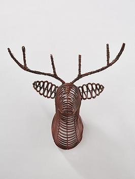 reindeer-head-wall-hanging-ornament