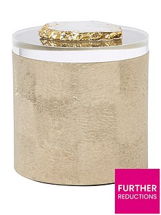 river-island-small-gold-textured-box-with-real-agate-lid