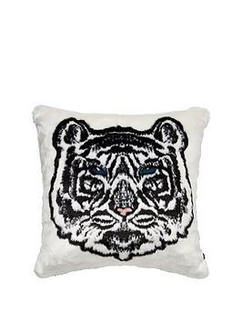 river-island-faux-fur-white-tiger-cushionnbsp