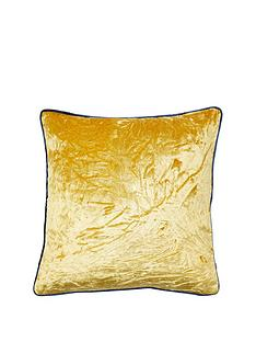 river-island-chartreuse-velvet-cushion