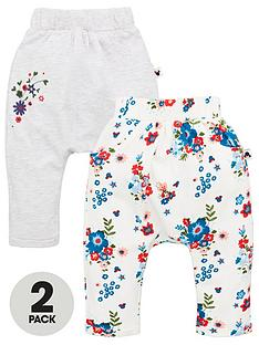 minnie-mouse-baby-girls-2-pack-frill-joggers-multi