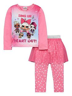 lol-surprise-girls-3-piece-tutu-pyjama-set-pink