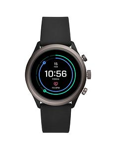 fossil-fossil-full-colour-display-black-smoke-aluminium-41mm-dial-black-silicone-strap-smart-watch