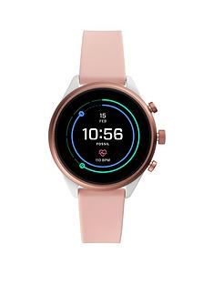 fossil-fossil-full-colour-display-rose-gold-aluminium-41mm-dial-blush-silicone-strap-smart-watch