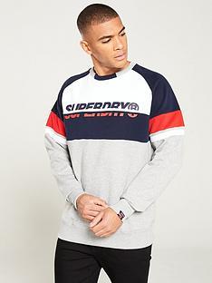 superdry-racer-print-crew-neck-sweater-greywhitenavy