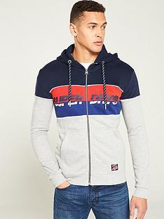 superdry-racer-print-hoodie-greynavyred