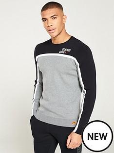 superdry-downhill-slalom-crew-neck-sweater-greyblack