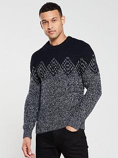 superdry-badlands-crew-neck-jumper-navygrey