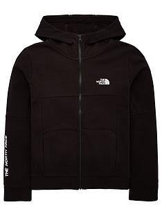 the-north-face-youth-south-peak-full-zip-hoodie-blackwhite