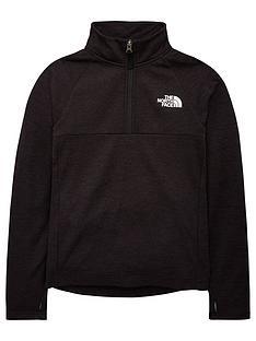 the-north-face-boys-reactor-14-zip-jacket-black