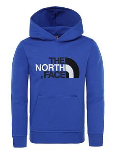 the-north-face-youth-drew-peak-po-hoodie-blue