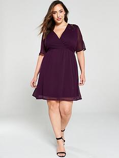 junarose-curve-sanne-embellished-wrap-dress-purple