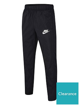 nike-sportswear-kids-woven-pants-blackwhite