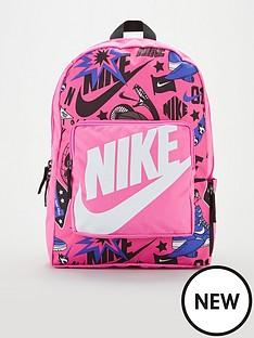 nike-kids-classic-all-over-print-backpacknbsp--pinkblack