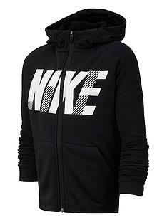 nike-kids-gfx-dry-full-zip-hoodie-blackwhite